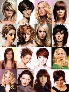 Moške in ženske frizure
